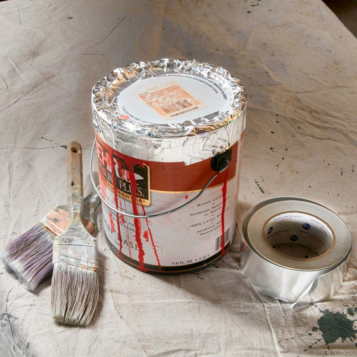Foil Tape Paint Saver Tape Painting Handyman Projects Painting Tips