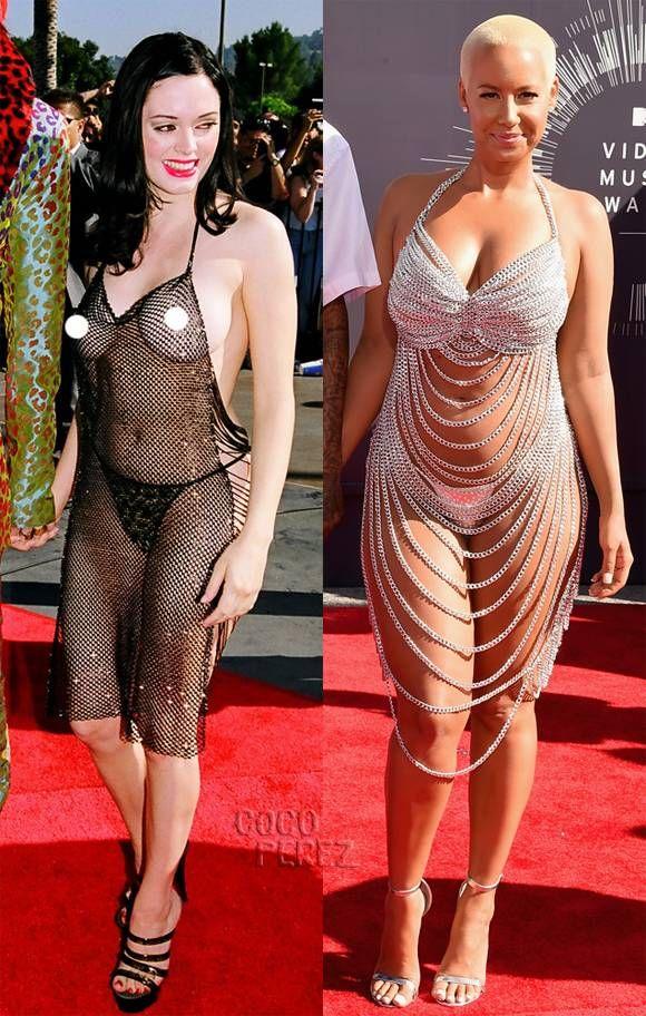 Rose Mcgowan Amber Rose Who Wore It Better Fashion