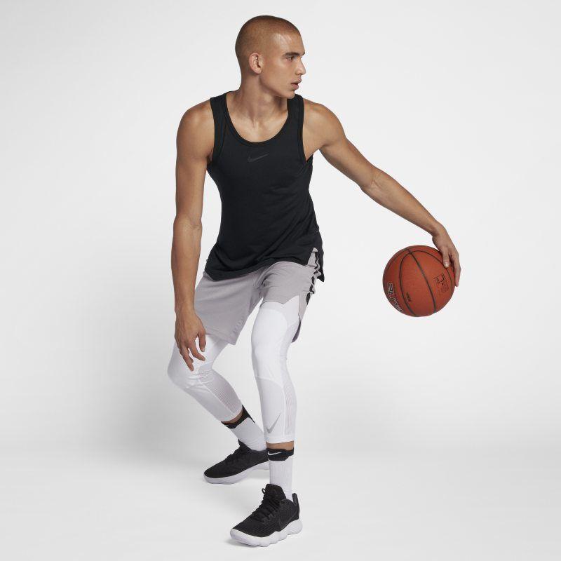 cb6d9e254029 Nike Breathe Elite Men s Sleeveless Basketball Top - Black ...