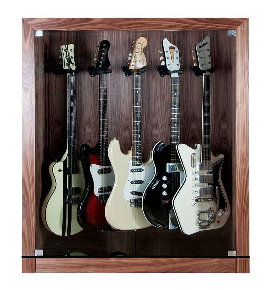 The Studio Guitar Display Case Cabinet For Up To Five Guitars