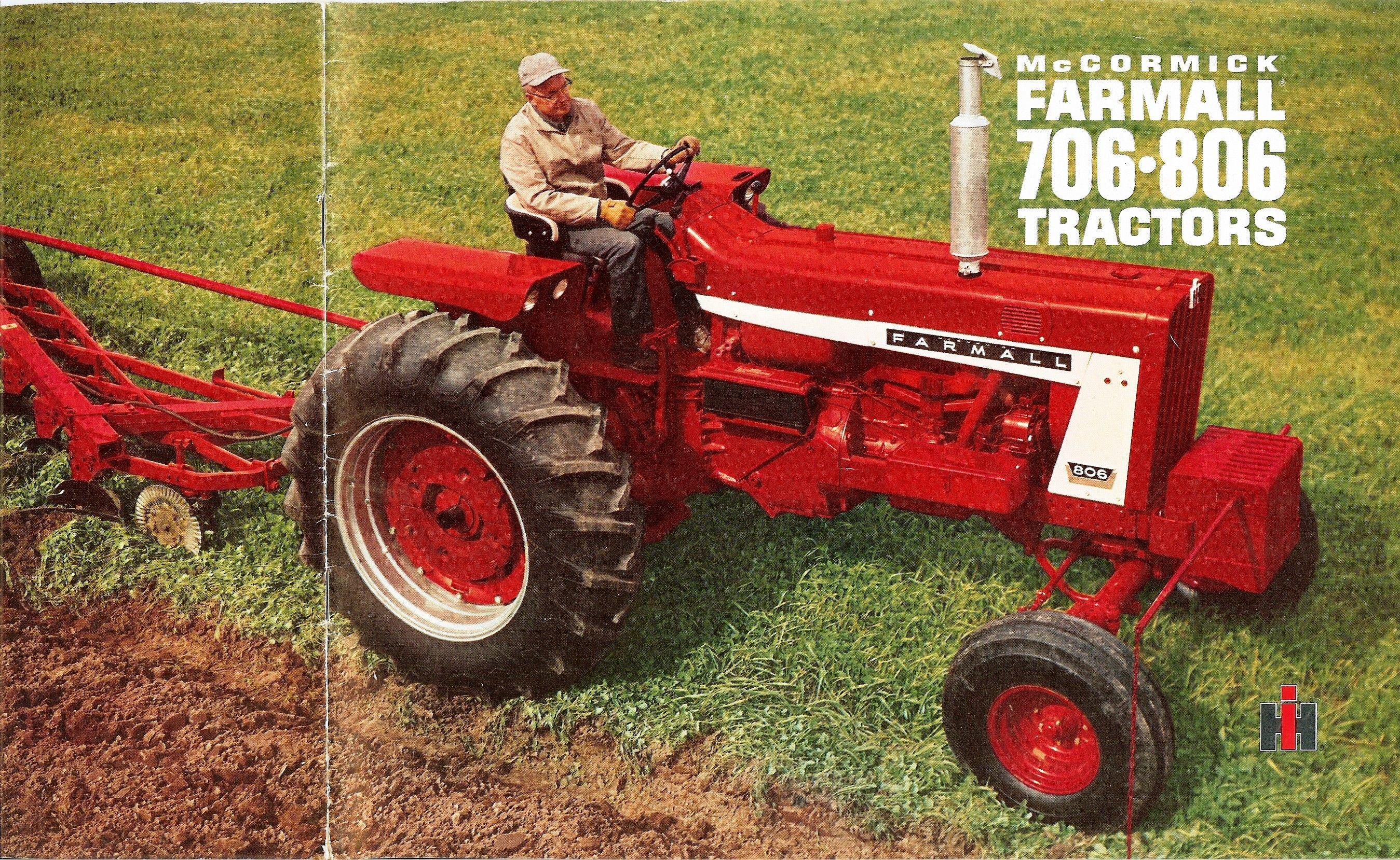 1960 International Tractor : Farmall international harvester advertising
