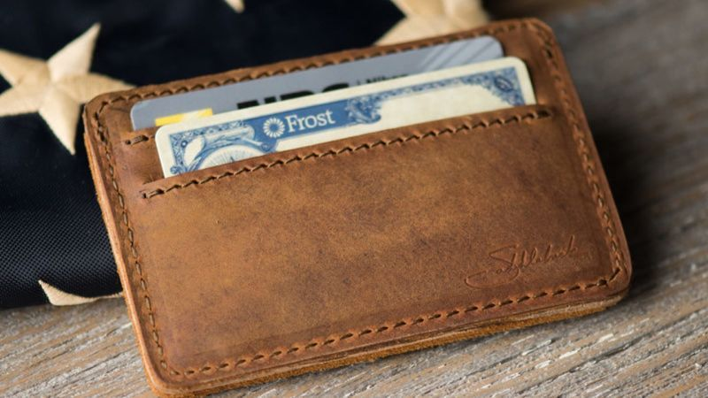 Your Favorite Front Pocket Wallet Is Saddlebacks Leather ID Wallet