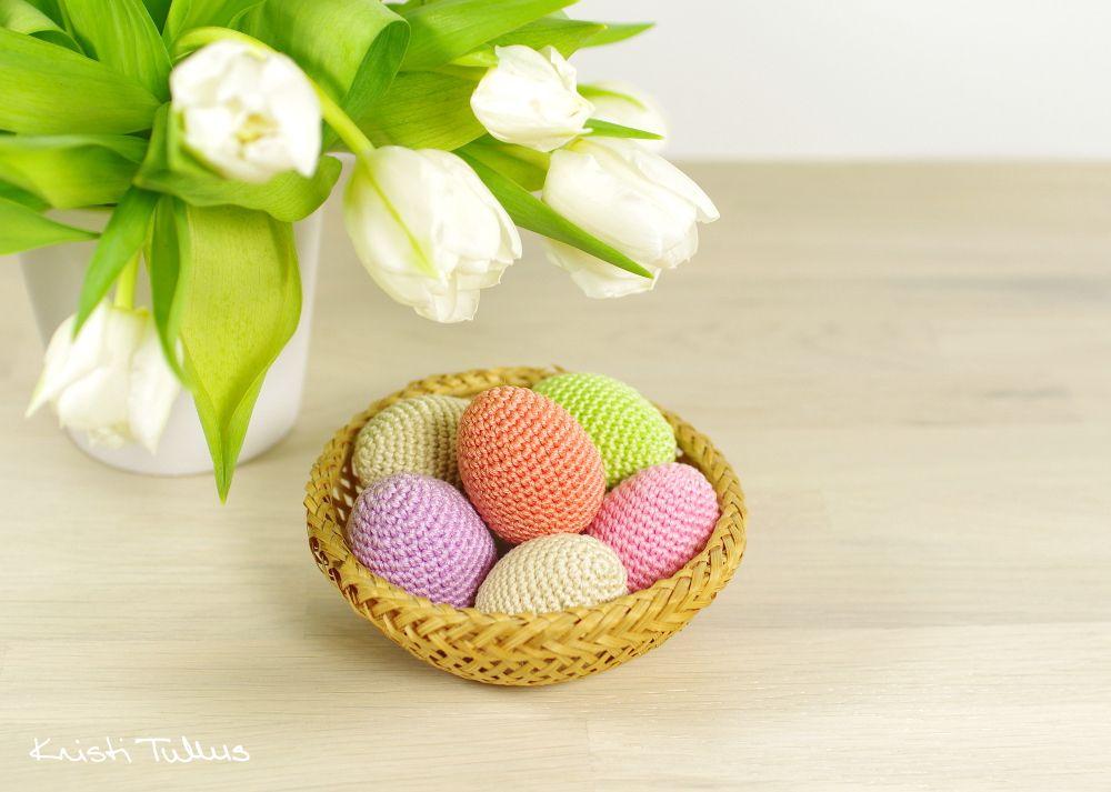 Free pattern - Easter Eggs // Kristi Tullus (spire.ee) | Amigurumis ...
