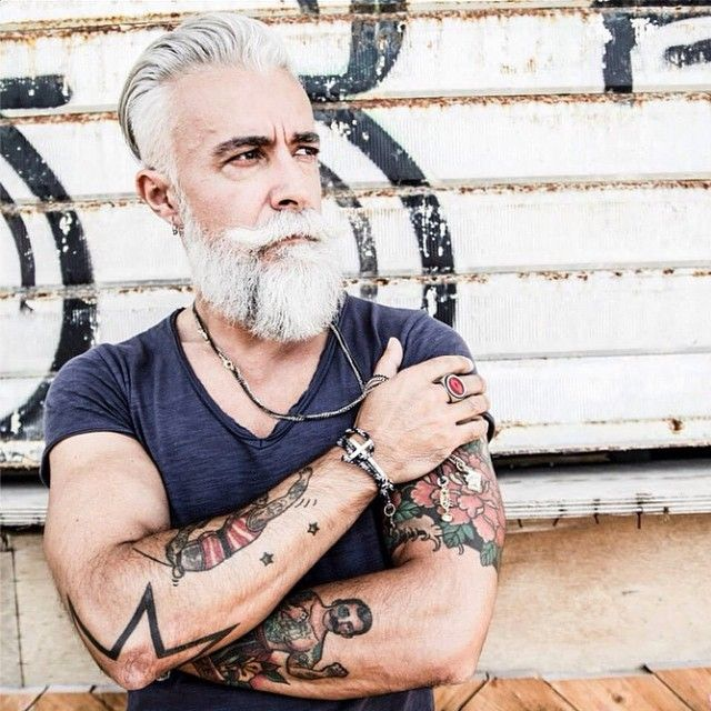 instagram tattoos old with man