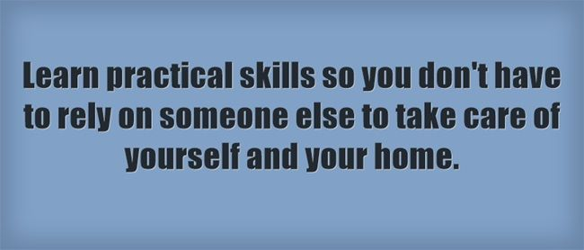 how to learn practical skills
