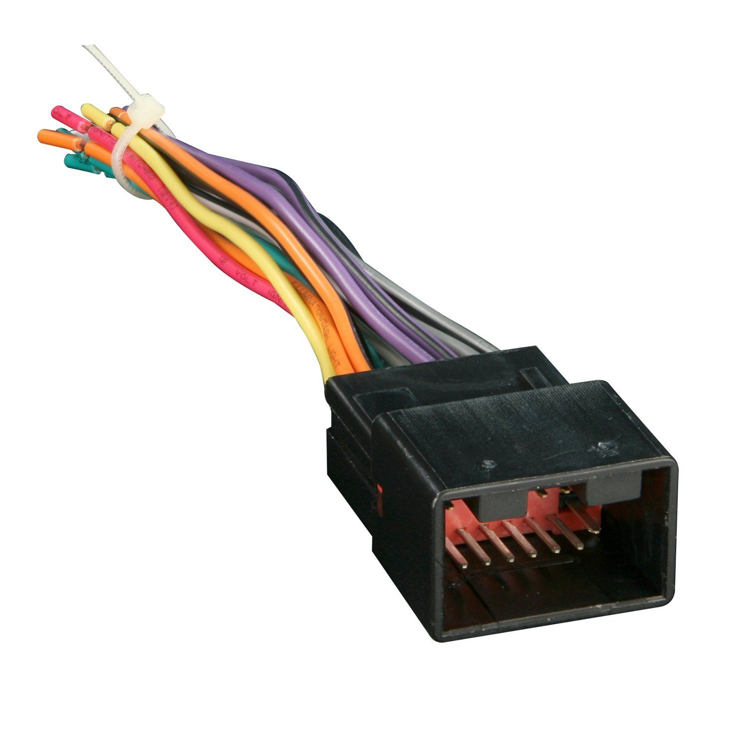 Metra 70-1771 Radio Wiring Harness for Ford/Lincoln/Mazda 1998-Up ...