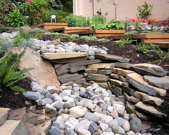 Dry Stream Bed Design Pictures Remodel Decor and Ideas