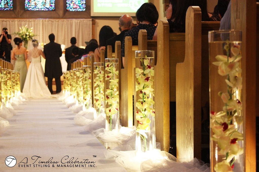 Church aisle wedding ideas lighting church wedding altar ideas montreal wedding decorations ceremony lighted aisle wedding on church wedding altar ideas junglespirit Images