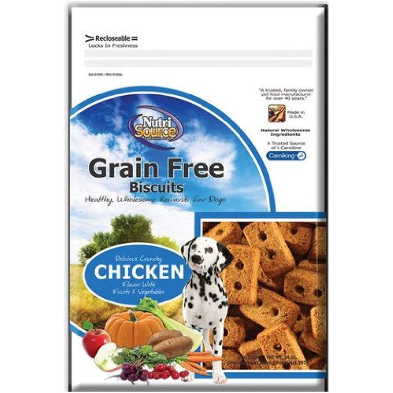3.33 ea. (6 Pack) NutriSource Grain Free Chicken Dog