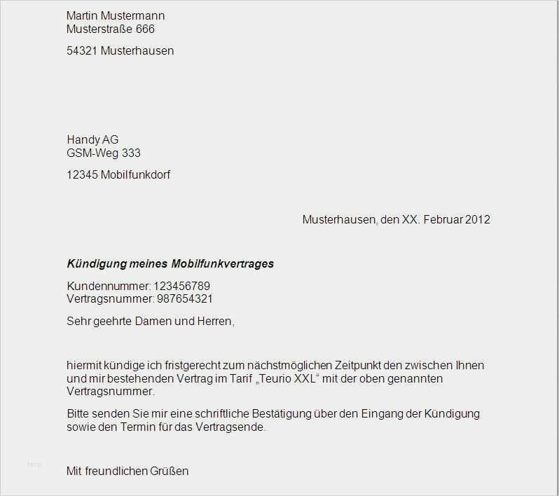Erstaunlich Vorlage Telekom Kundigung Modelle Kundigung Vertrag Vorlagen