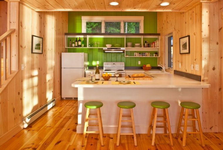 Holzküchen, die Sie auf den ersten Blick lieben werden