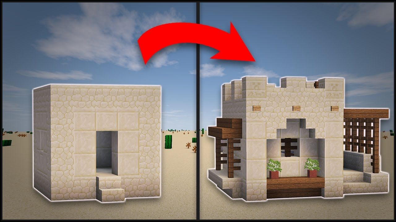 minecraft how to remodel a desert village small house minecraft pinterest minecraft. Black Bedroom Furniture Sets. Home Design Ideas