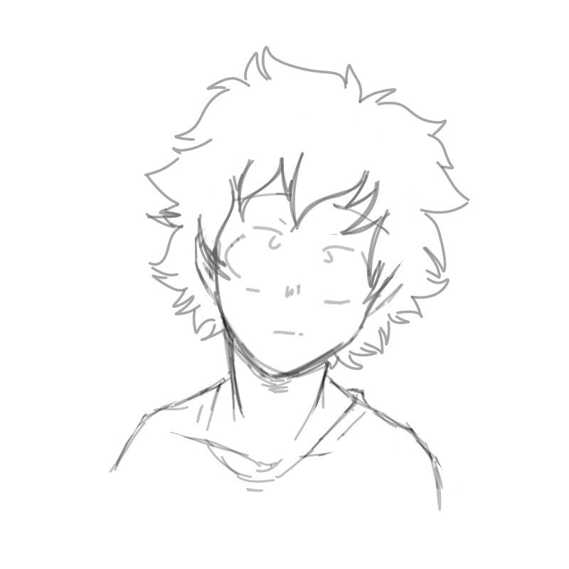 Izuku Midoriya Deku Art Sketches Drawings Sketches