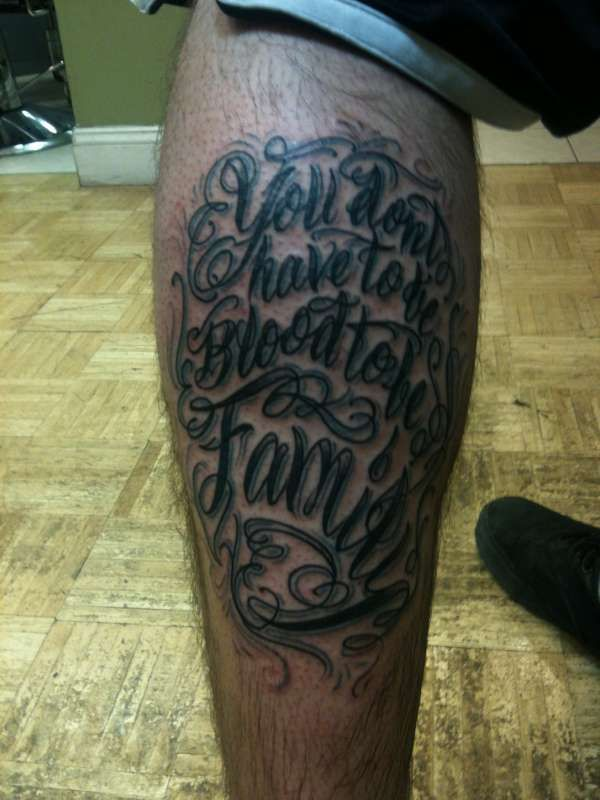 Family Over Everything Tattoo Quotes
