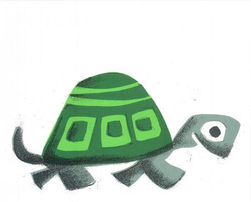 This little turtle is Movin On  Screen PrintSize: 16 x 20Stock: 100 lb. Cougar Heavy Stock©2012 Print Mafia