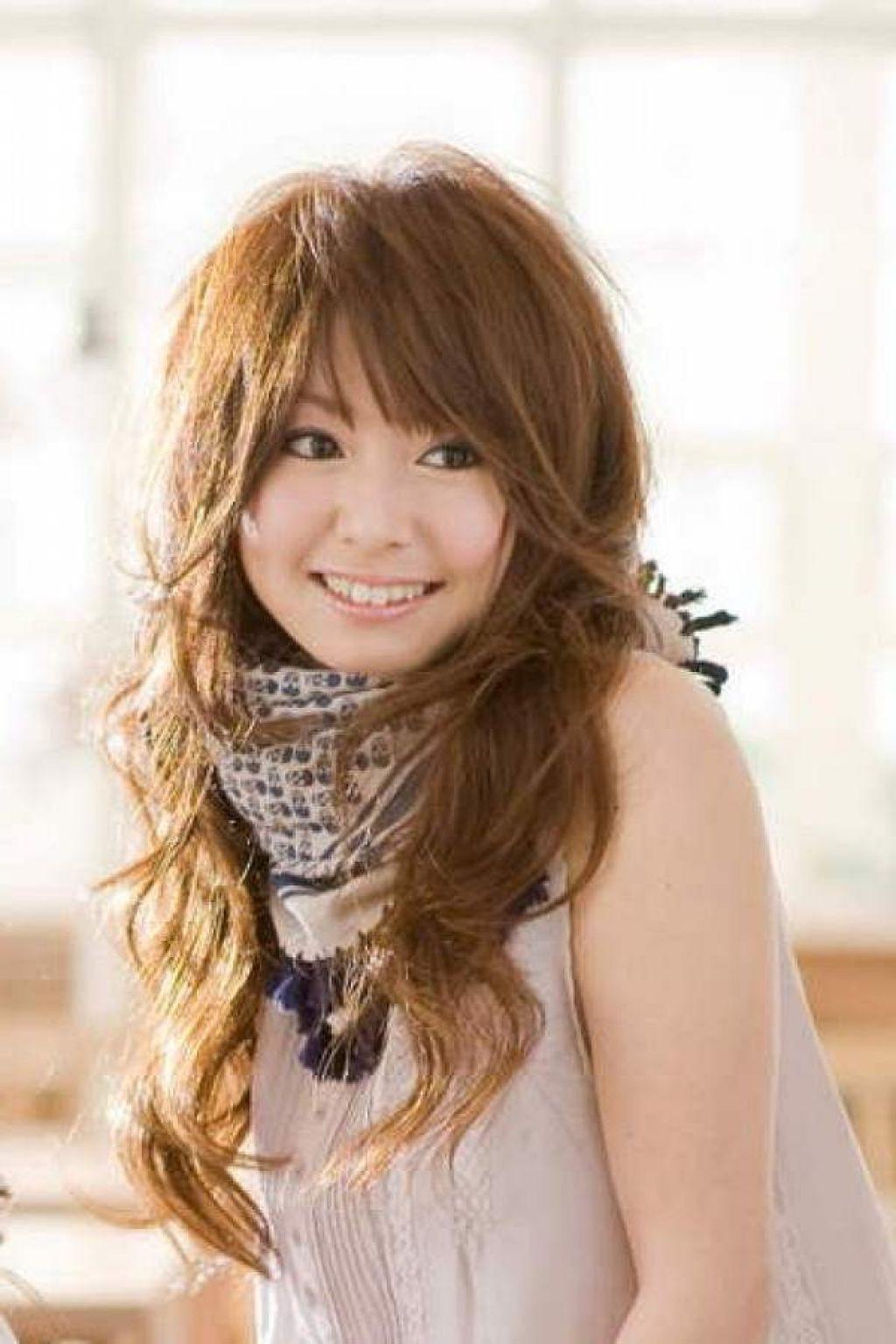 long layered japanese hairstyles