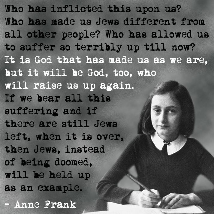 13 Anne Frank Quotes That Give Us Chills Anne Frank Quotes Anne