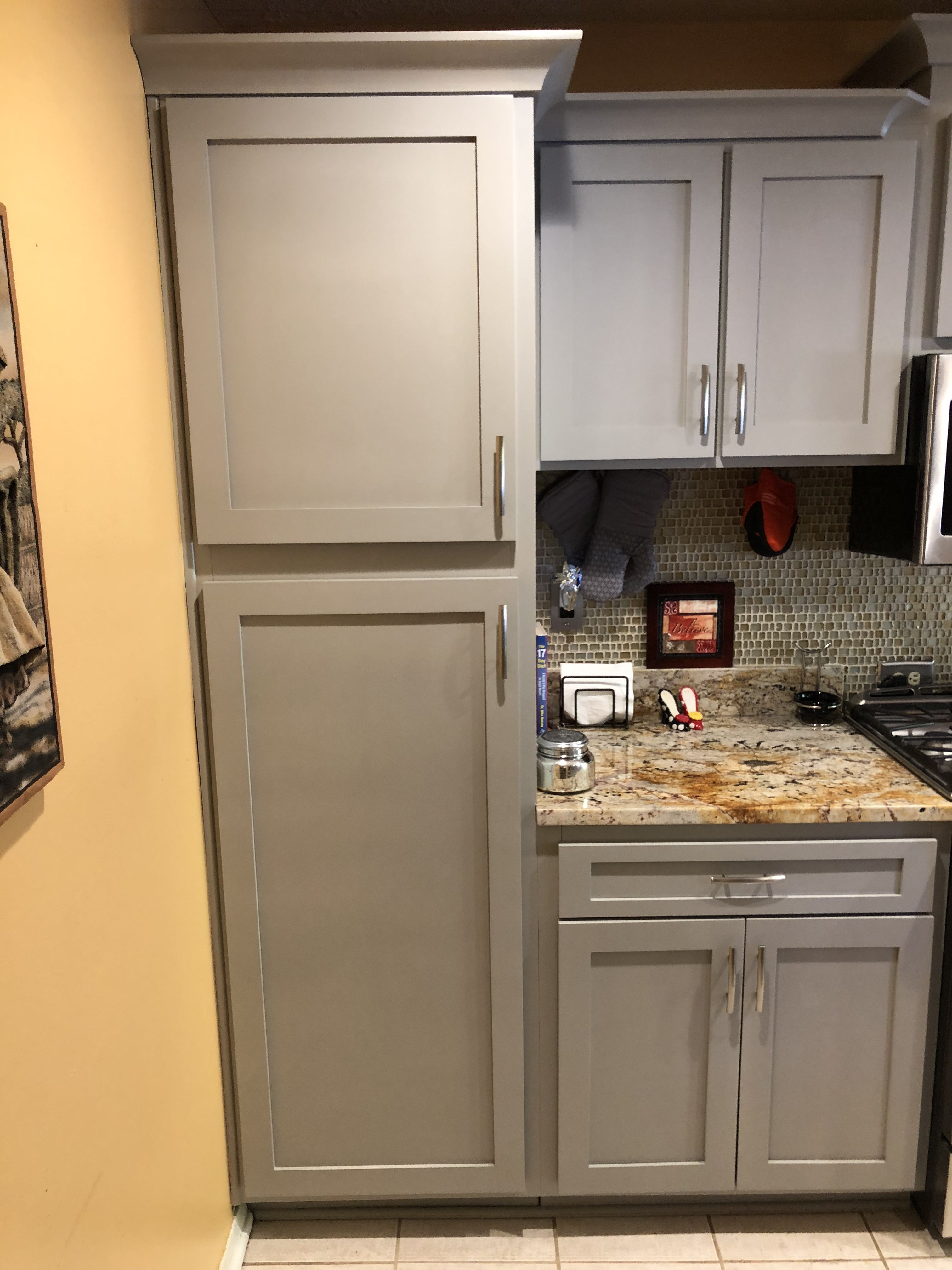 Pin By Nhance North Atlanta On Before And After Kitchen Cabinet