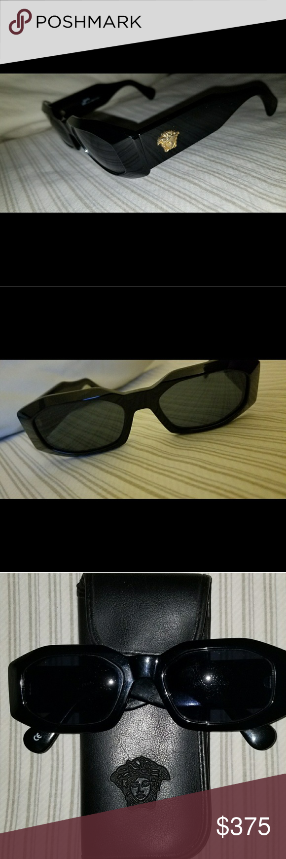 baa93946034c GIANNI Versace Vintage Sunglasses. GIANNI Versace Vintage Sunglasses.  Model: 414 Col.852