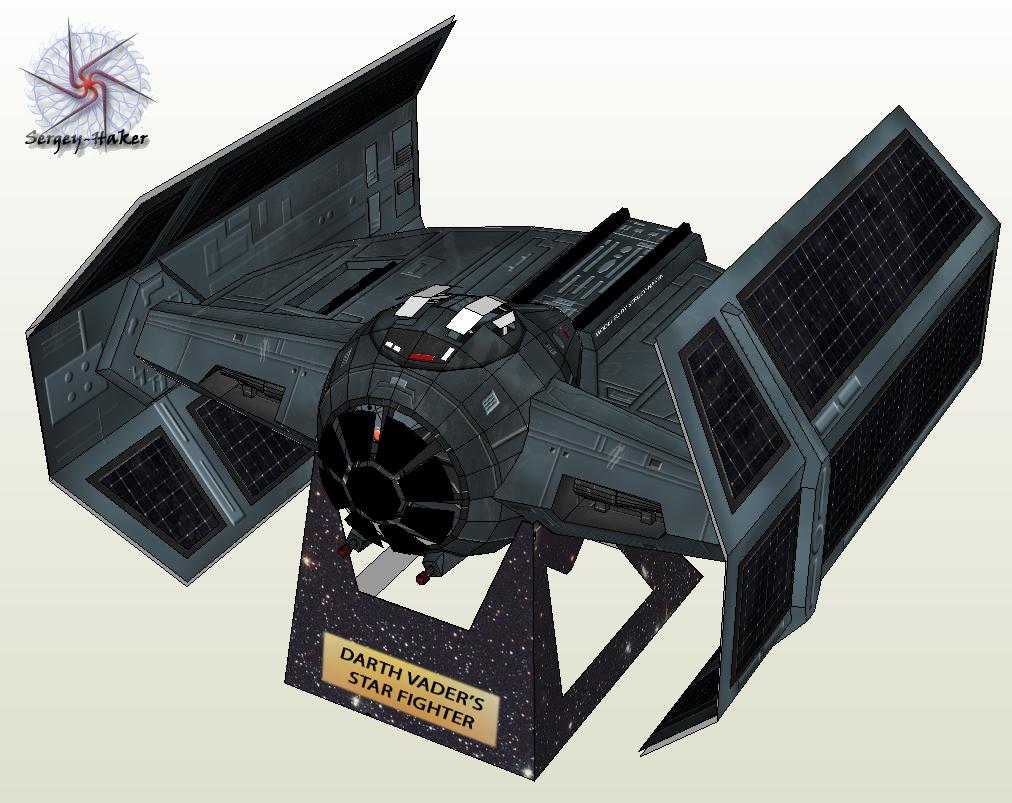 Este O Tie Advanced X1 A Nave Que Vader Pilota Para Detonar As How To Fold An Origami Naboo Starfighter And Other Starships From Star Caas Rebeldes Planejavam Destruir Estrelada Morte Durante