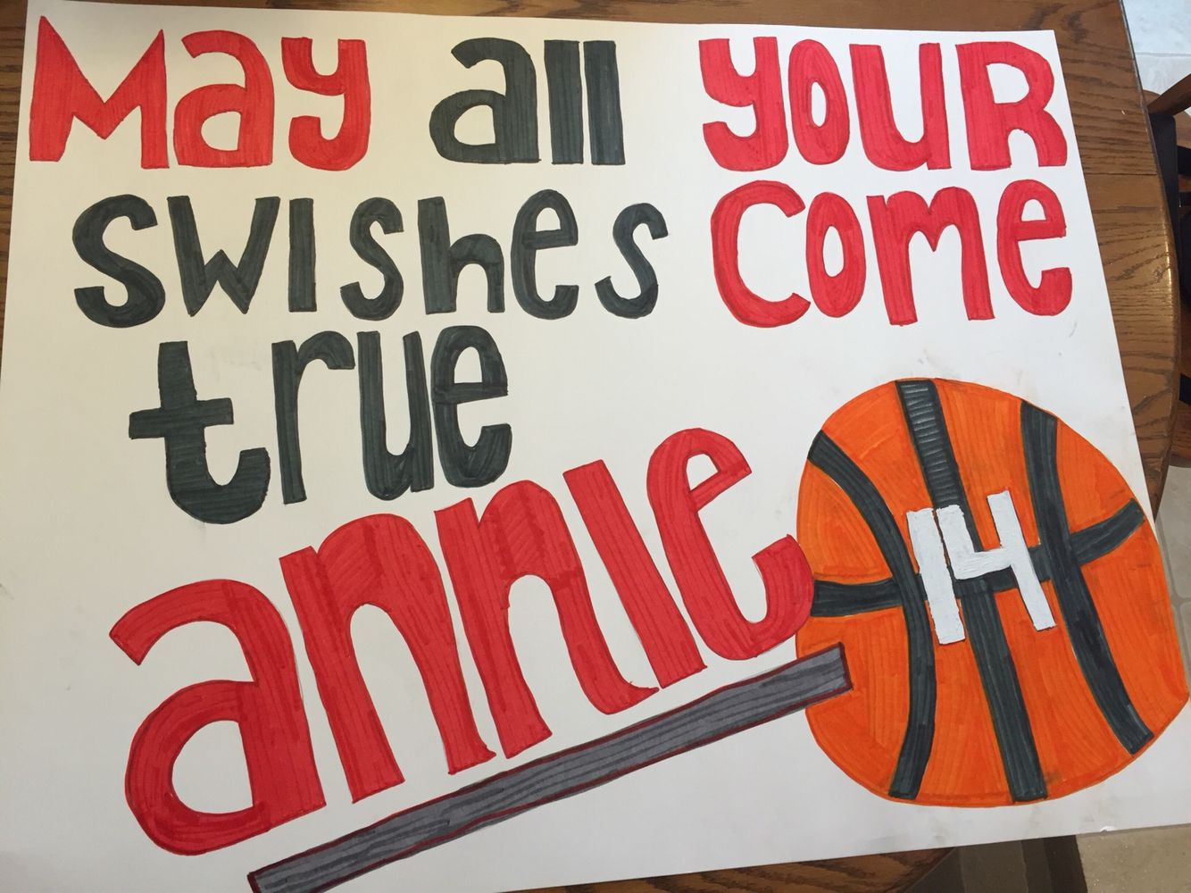 Poster Idea For A Basketball Game Sports Posters Basketball Basketball Posters Senior Night Posters