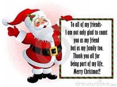 To All My Friends Funny Funny Quotes Humor Christmas Xmas Santa
