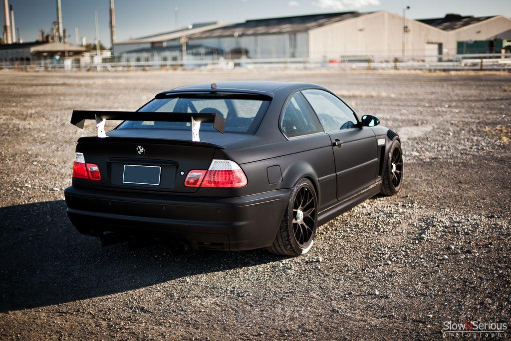 Matte Black E46 M3 Bmw M3 Forum Com E30 M3 E36 M3 E46 M3
