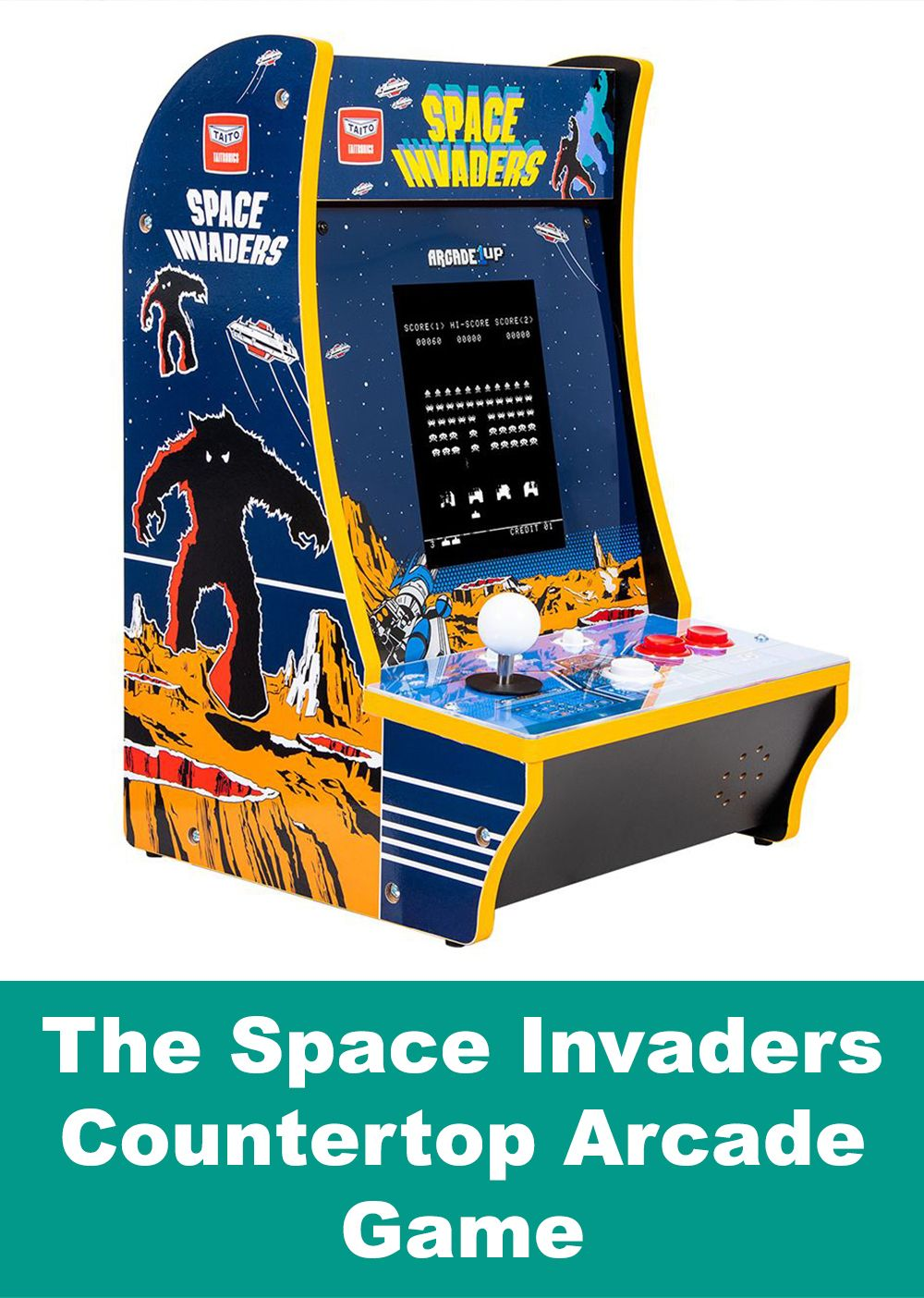 This Is The Countertop Arcade Game That Brings To Life One Of