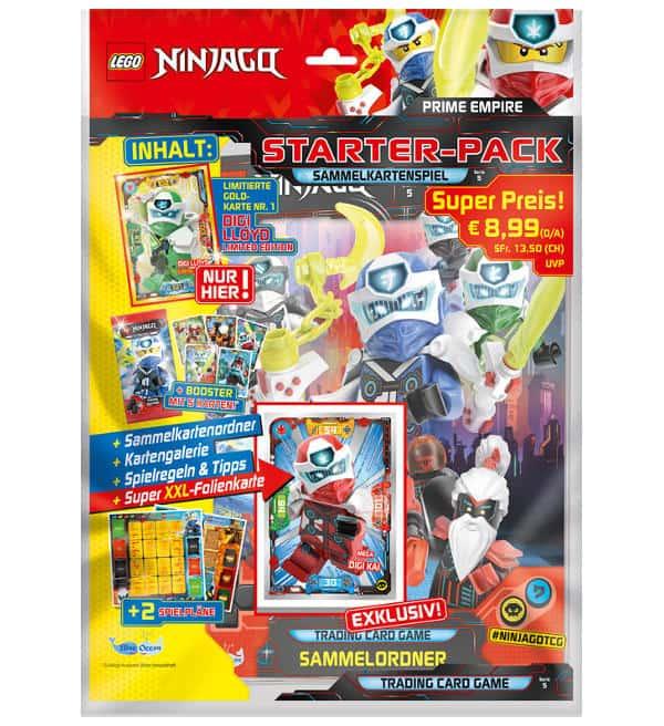 Lego Ninjago Serie 5 Trading Cards Starter Pack In 2020 Lego Ninjago Lego Karten