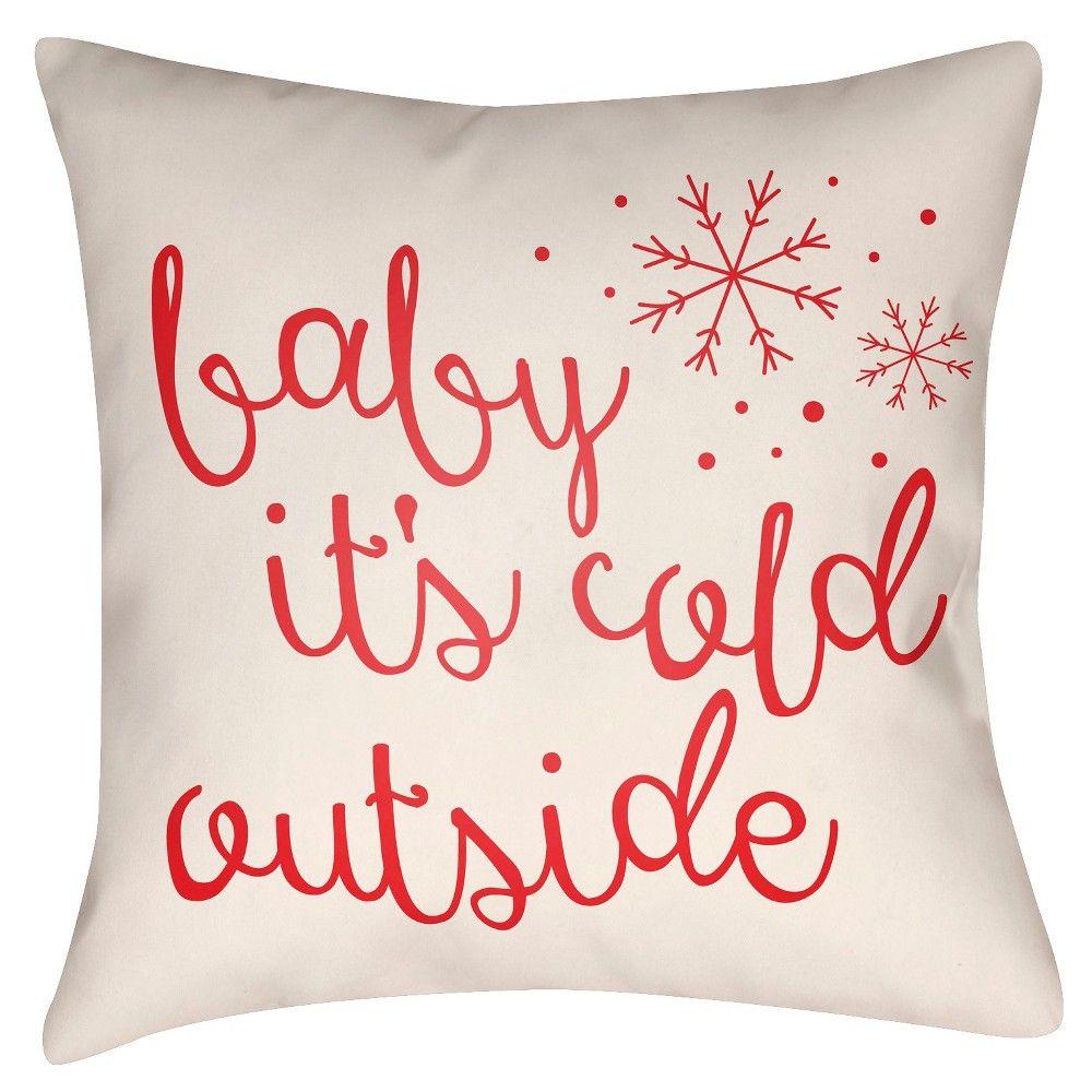 Winter Romance Throw Pillow -