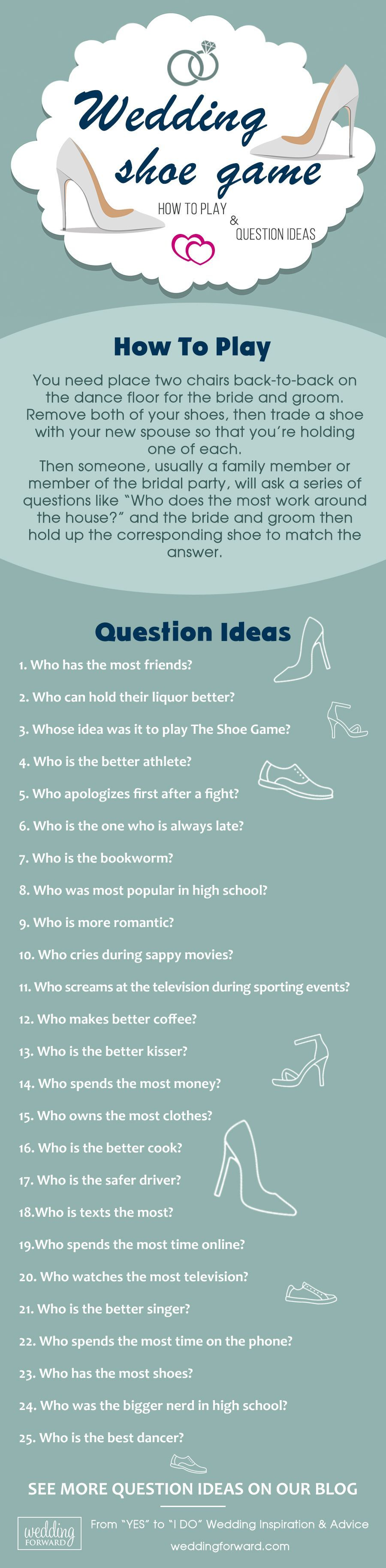 The Shoe Game - How To Play & 50 Question Ideas