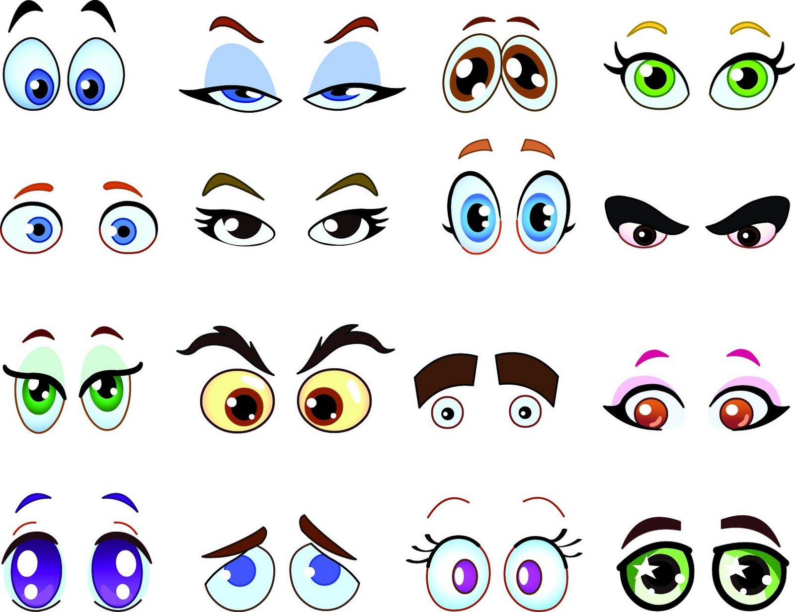 Happy Delicious Stuff: Clip Art - Cartoon Eyes - ClipArt Best ...