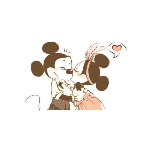 Mickey And Minnie Mouse Just Being A Girl