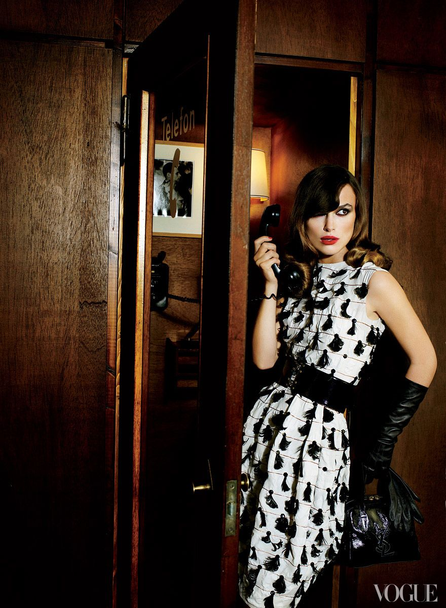 Keira Knightley Throughout the Years in Vogue - Vogue Daily - Fashion and Beauty News and Features