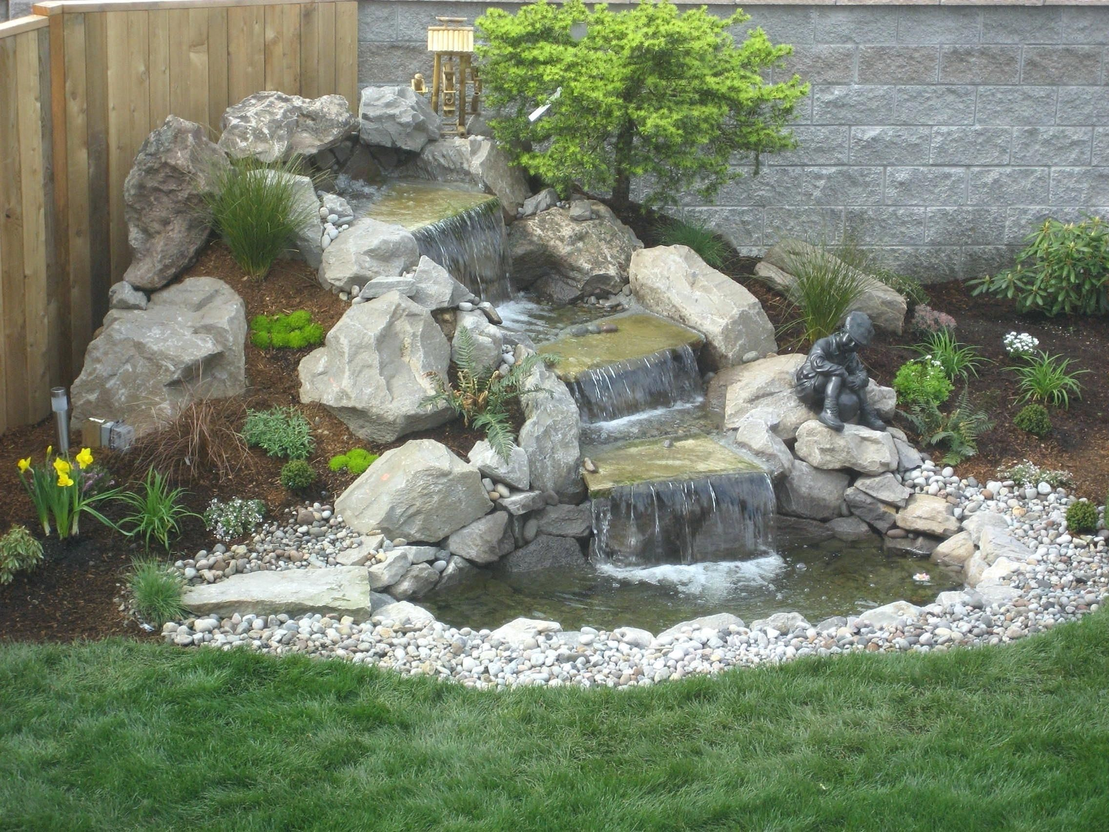 10 Best Pictures Waterfall Ideas To Inspire Your Garden Freshouz Com Water Features In The Garden Waterfalls Backyard Waterfall Landscaping