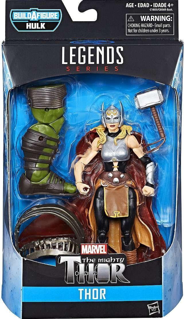 """Marvel Legends Series 6"""" Thor Ragnarok Thor Avengers"""