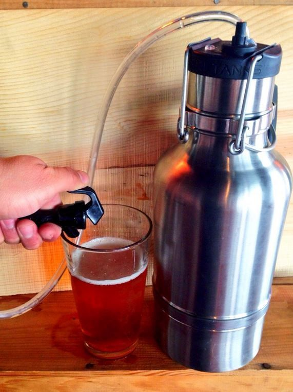 Homebrew Finds: Update: Drink Tanks Double Wall Growler and