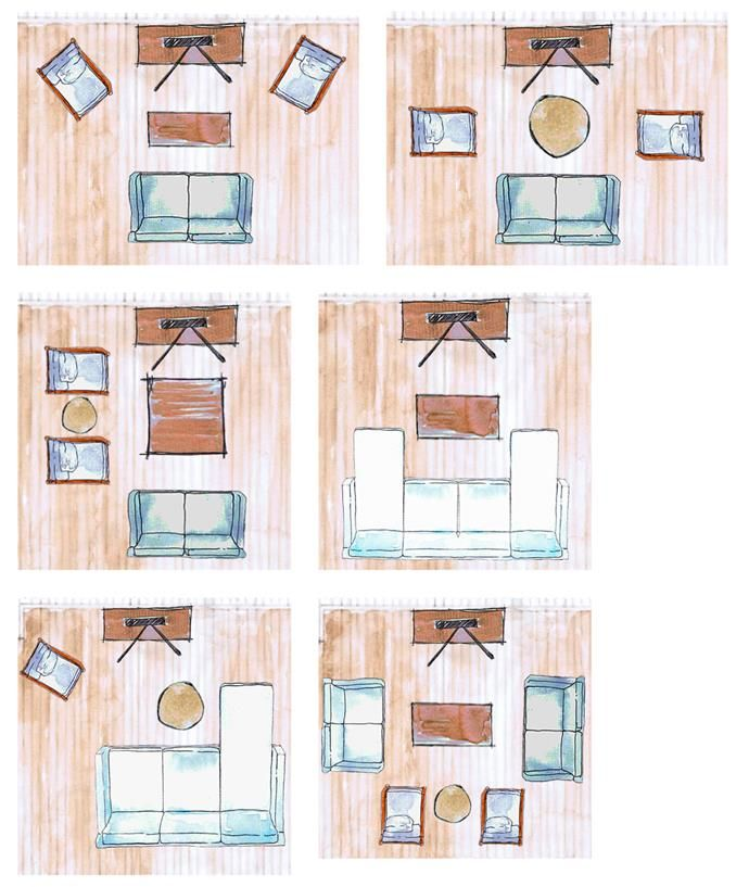 Living room layouts: 15 ways to position your furniture