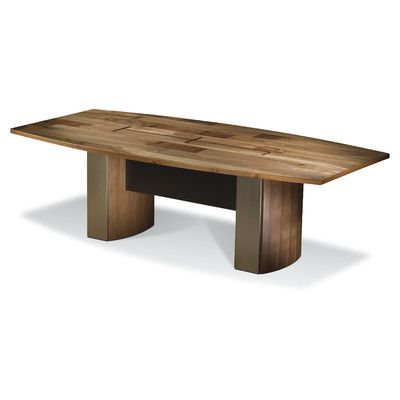 Woodtech BoatShaped Conference Table Size H X W X D - Boat shaped conference table dimensions