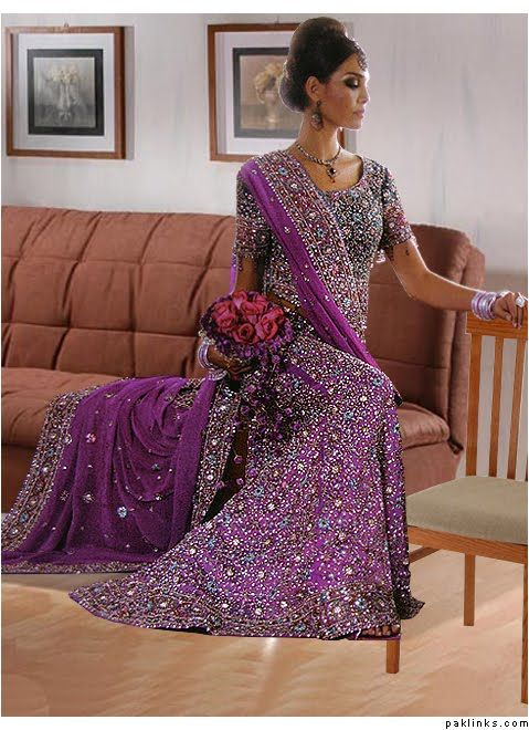 900a06d8e1 purple indian wedding lengha - Google Search | Naz in 2019 | Wedding ...