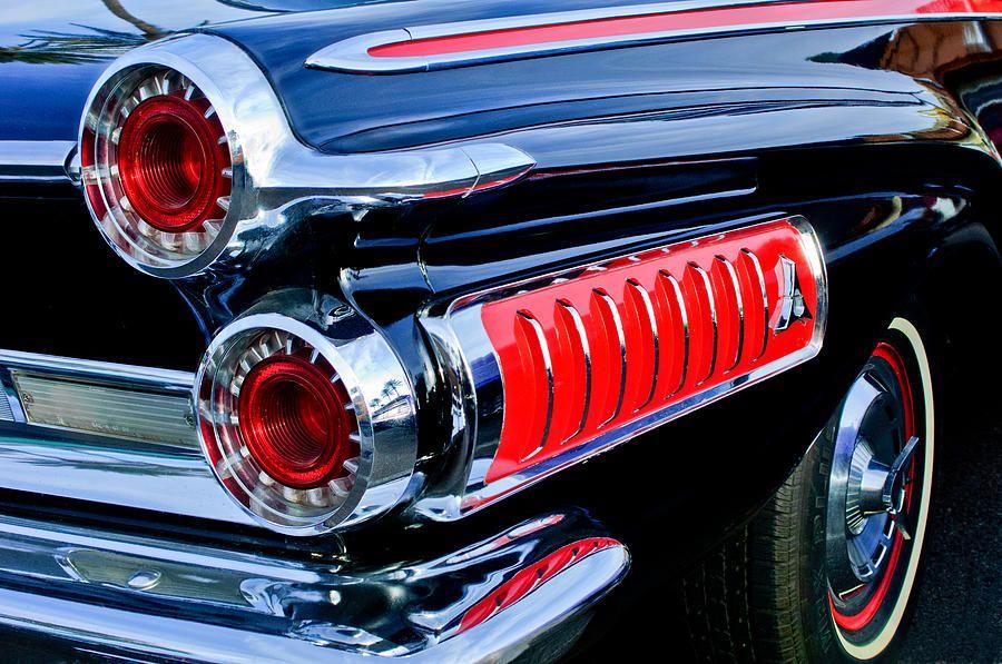 1962 Dodge Polara 500 Taillights Photograph by Jill Reger…Beep Beep ...