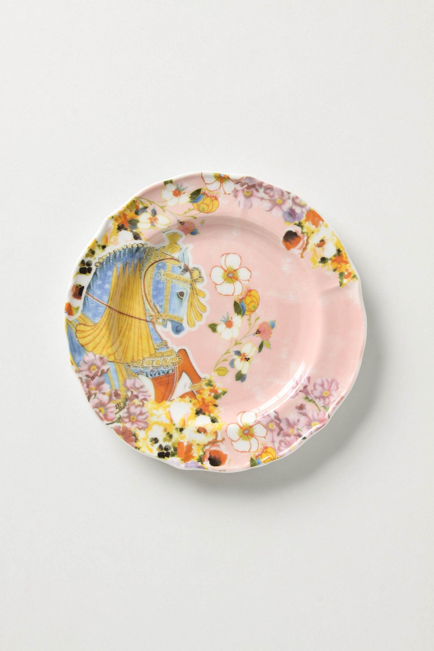 Anthropologie plates the image kid has it for Calligrapher canape plate anthropologie