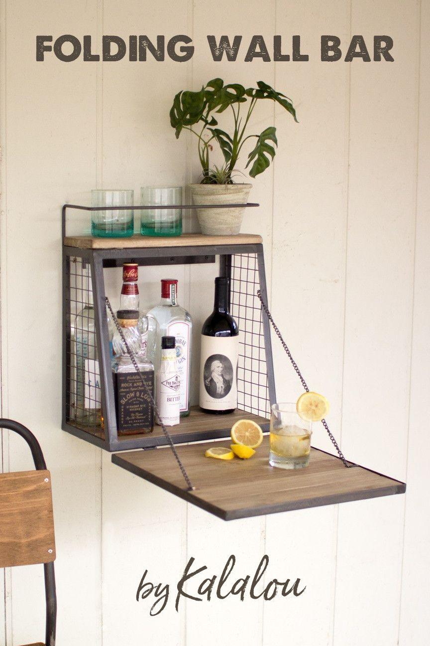 All Things Barbecue Wall Bar Diy Home Bar Wall Bar Cabinet