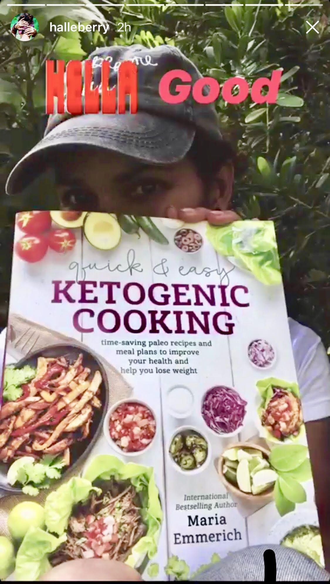 Halle Berry Eats Keto Maria Mind Body Health Keto Diet Book