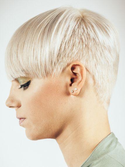 Haare damen hinterkopf kurze Kurze Haare