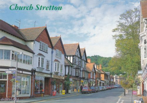 #Church #stretton, #sandford avenue, shropshire postcard (a110,  View more on the LINK: http://www.zeppy.io/product/gb/2/361737668398/