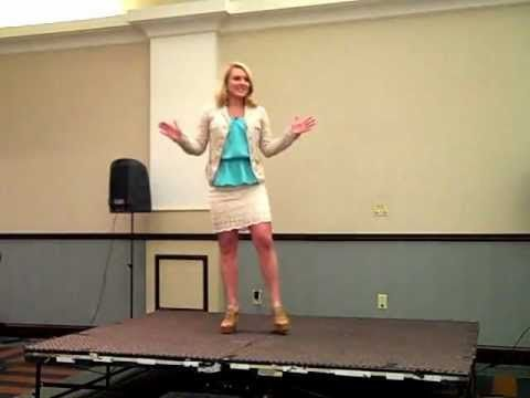 Lindsey Hodous @ Toastmasters- 5 Tips to Findin' Friends. Have a laugh!