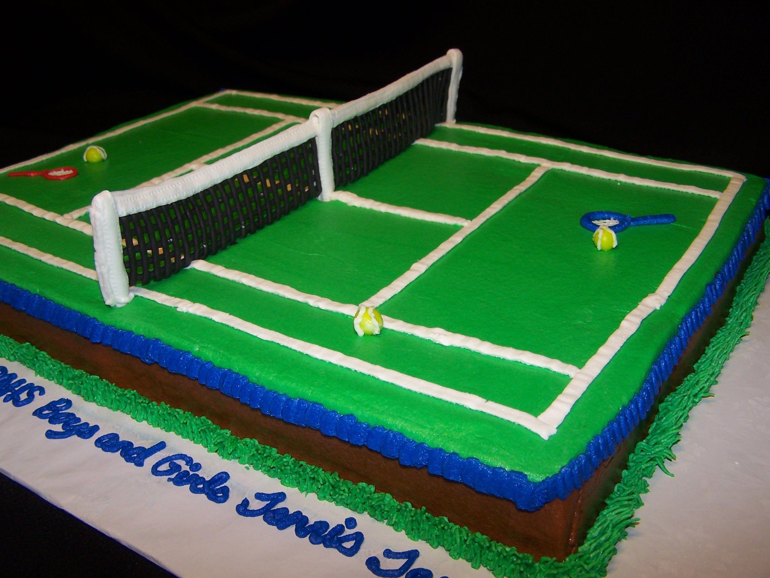Tennis Court Tennis Tennis Court How To Make Cake Tennis