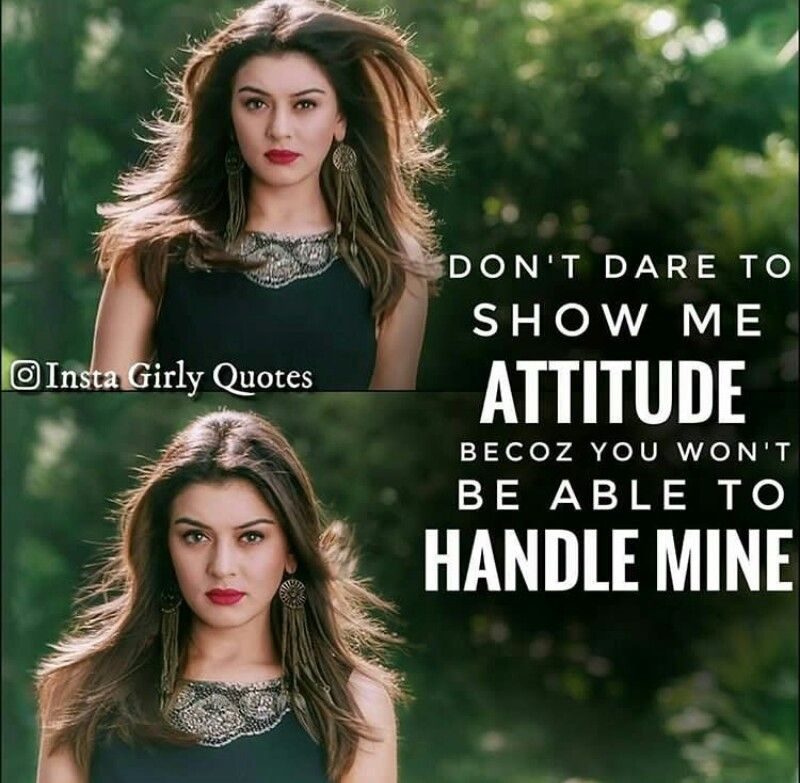 Do attitude why girls show 13 Habits
