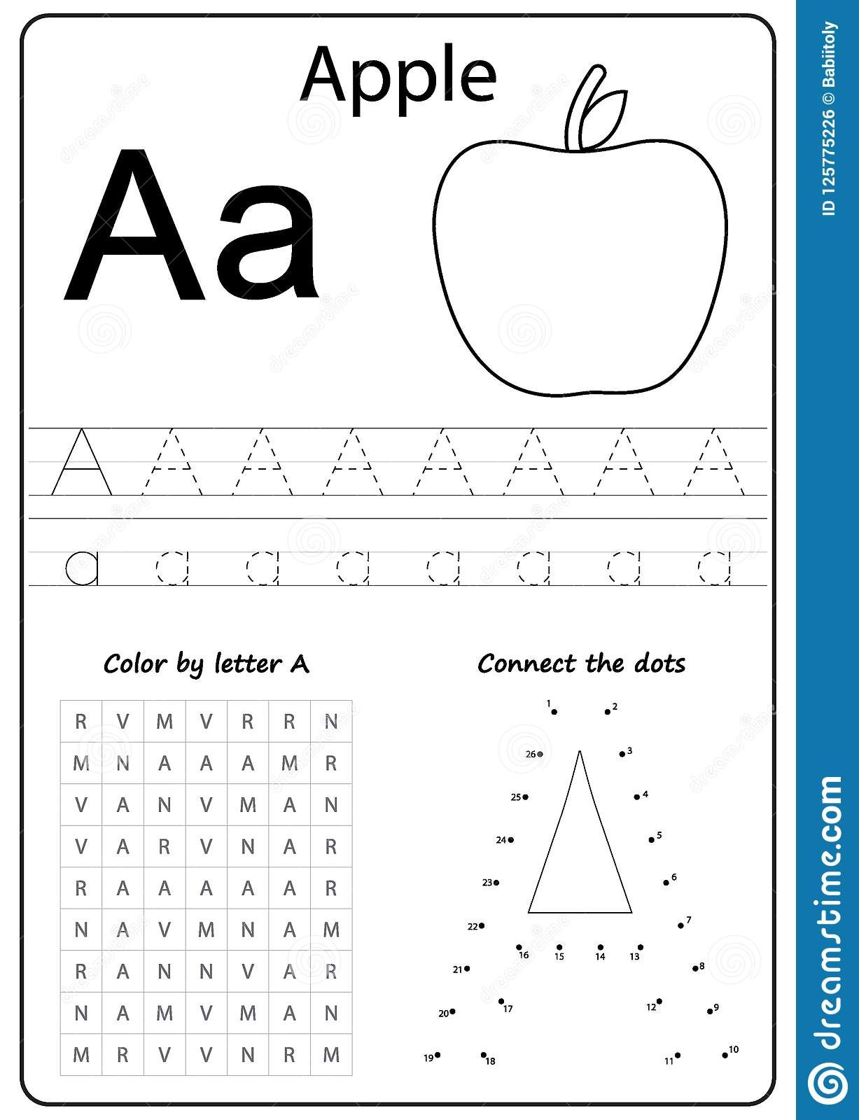 Download 11 025 Letter Worksheet Stock Illustrations